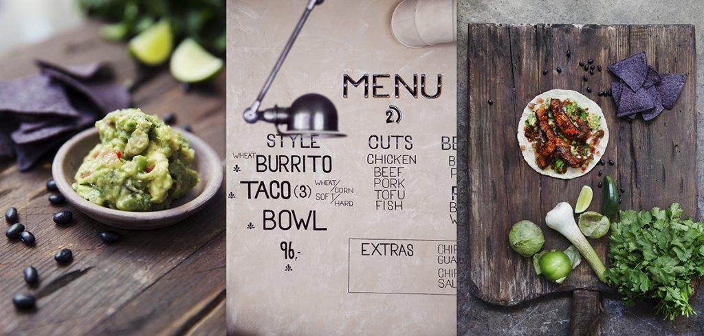 el camino taco guacamole burrito