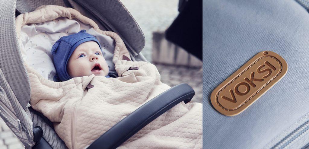 voksi pose vogn baby