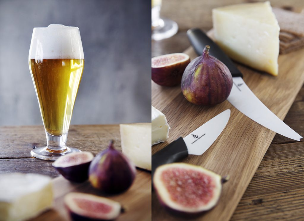 hadeland glass øl kniv