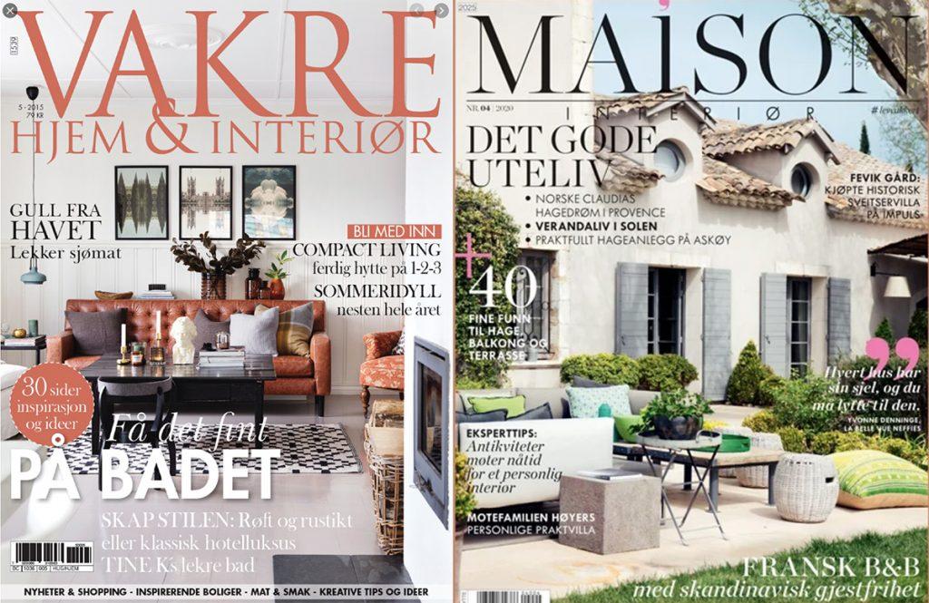 cover magasin maison vakre hjem
