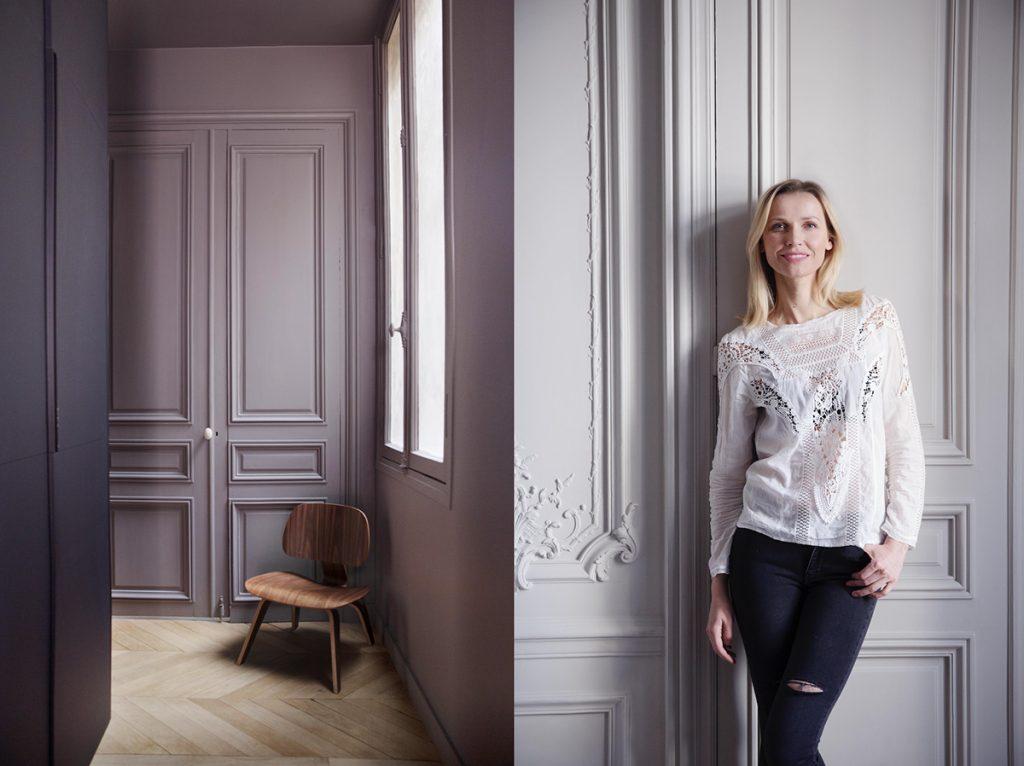 paris lilla maling interiør