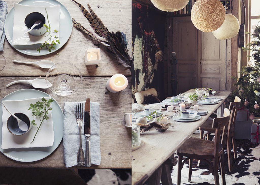 jul styling bord dekke bord